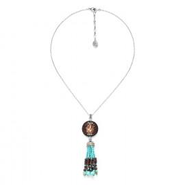 collier avec coquillage et pampille Maracaibo - Nature Bijoux