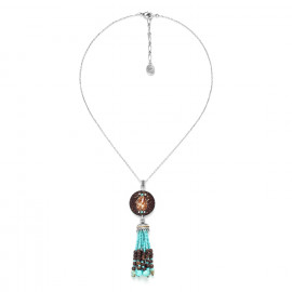 necklace with shell and tassel Maracaibo - Nature Bijoux
