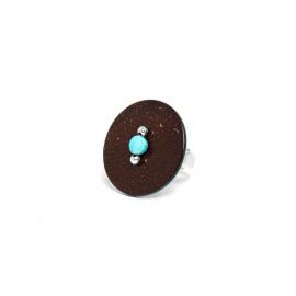 coconut ring howlite bead Maracaibo - Nature Bijoux