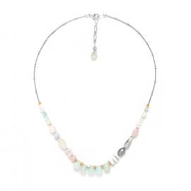 etit collier amazonite Rock & pearl - Nature Bijoux