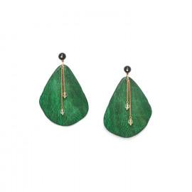 big leaves earrings Wild leaves - Nature Bijoux