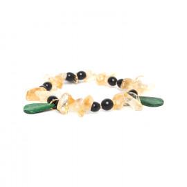 stretch bracelet Wild leaves - Nature Bijoux