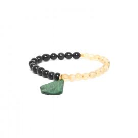 dual stretch bracelet Wild leaves - Nature Bijoux
