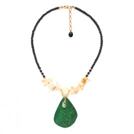 one leaf necklace Wild leaves - Nature Bijoux