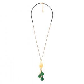 long necklace Wild leaves - Nature Bijoux