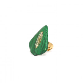 leave ring Wild leaves - Nature Bijoux