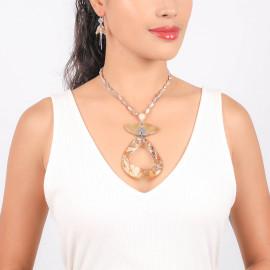 big pendant necklace Altai - Nature Bijoux