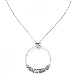 collier court anneau grand modèle Desert dream - Ori Tao