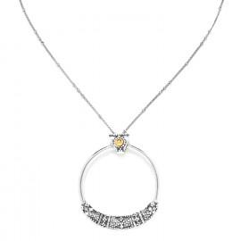 short necklace with big ring Desert dream - Ori Tao