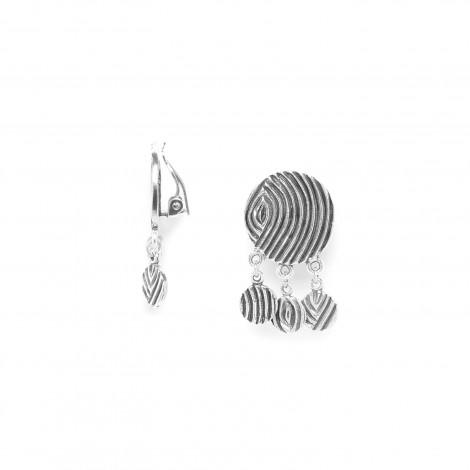 boucles d'oreilles clips pampilles Infinity