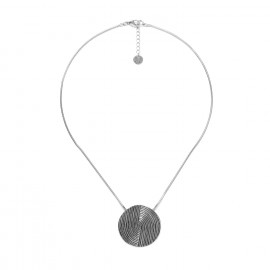 collier pendentif rond Infinity - Ori Tao