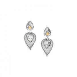 2 elements clip earrings Jakarta - Ori Tao