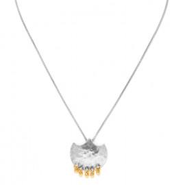 collier mi-long pendentif 5 grelots Java - Ori Tao