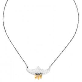collier court pendentif 3 grelots Java - Ori Tao