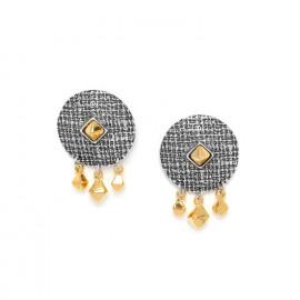 post earrings with 3 dangles Kampala - Ori Tao