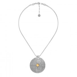 collier pendentif rond 5 cm Kampala - Ori Tao