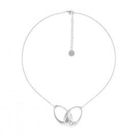 2 rings necklace Rokia - Ori Tao