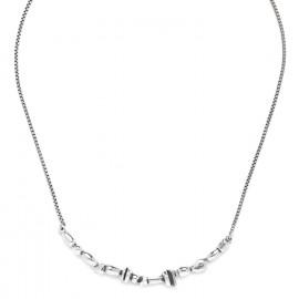 small necklace Silver beads - Ori Tao