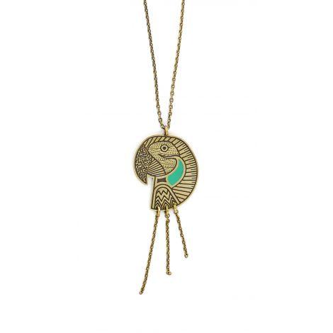 Amazone parrot short necklace