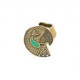 Amazone ring parrot - Amélie Blaise