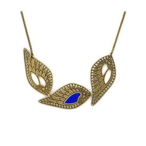Douce Plume short necklace