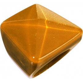 ring L HERRERA, orange/brown - Zsiska