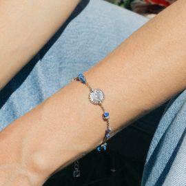 "MAGDALENA ""love/heart"" lapis lazuli braceclet - Olivolga"