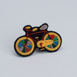 Paradise bicycle brooch (Box size S) - Macon & Lesquoy