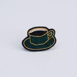 Broche tasse de café (boite S) - Macon & Lesquoy