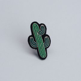 Mini cactus brooch (Box size S) -