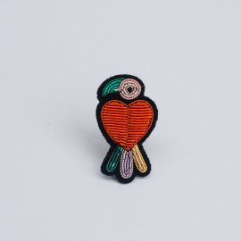 parrot brooch (Box size S) -