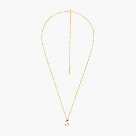 Letter S extraordinary necklace