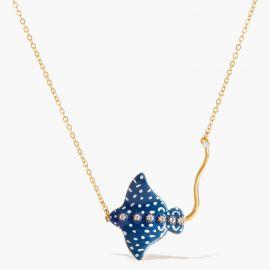 Necklace le Grand Large Blue eagle ray - Les Néréides