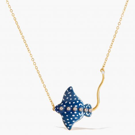 Necklace le Grand Large Blue eagle ray