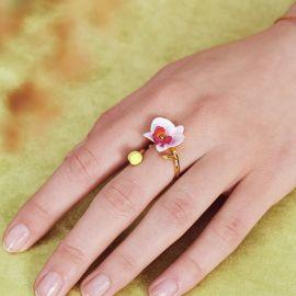 Ring Necklace Rêves d'orchidées - Les Néréides