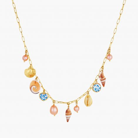 Necklace le Grand Large shell charms