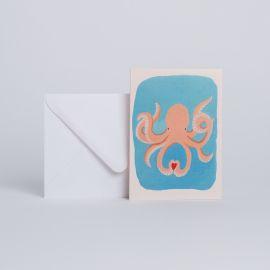 "Card ""IN LOVE"" - Season Paper"