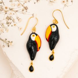 Toucan Pendant earrings - Nach