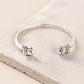 bracelet rigide ouverture sur poignet Desert dream - Ori Tao