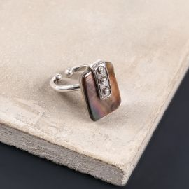 rectangle small ring El gaucho - Ori Tao