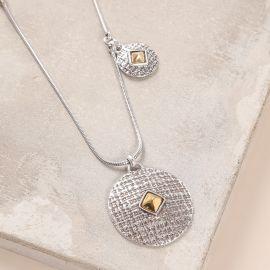 long necklace with side dangle Kampala - Ori Tao