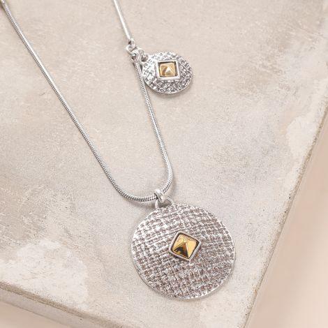 long necklace with side dangle Kampala