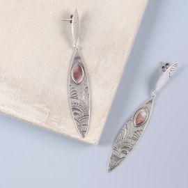 2 elements post earrings Mandala - Ori Tao