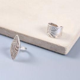 engraved ring Mandala - Ori Tao