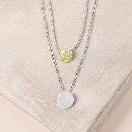 2 row necklace Swahili - Ori Tao