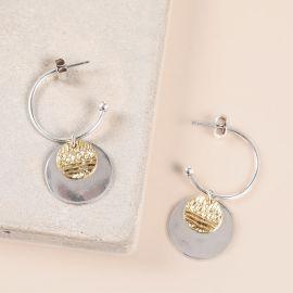 creoles & dangles earrings Swahili - Ori Tao