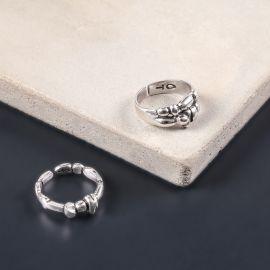 small ring Silver beads - Ori Tao