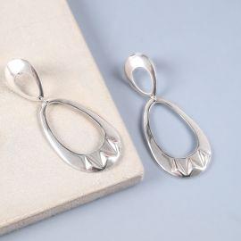 boucles d'oreilles 2 anneaux goutte Rokia - Ori Tao