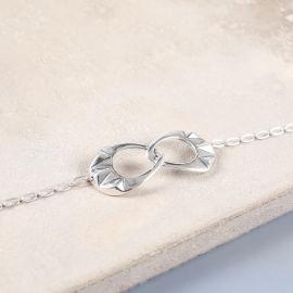 bracelet 2 anneaux Rokia - Ori Tao