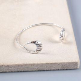 bracelet menotte 2 anneaux Rokia - Ori Tao